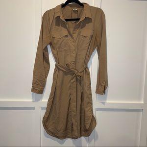 ASOS Jacqueline de Young Tie Utility Dress 34